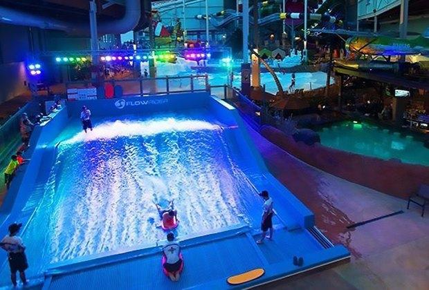 Aquatopia's Bombora FlowRider Indoor Water Parks