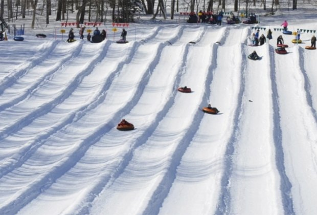 snow tubing at campgaw mountain Best Snow Tubing Spots Near New York City