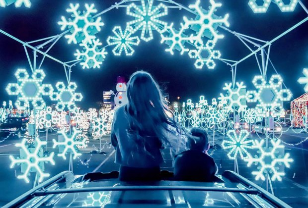 Holiday Light Shows: Drive Thru and Drive By Christmas Displays in