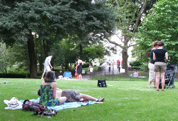 The park is filled with wide open green spaces, too. Photo by Eden, Janine & Jim via Flickr.