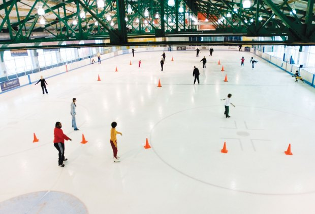 Chelsea Piers Sky Rink is open year round.