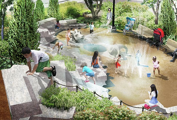 Get Ready For A Brand New Chelsea Waterside Playground Mommypoppins Things To Do In New York City With Kids