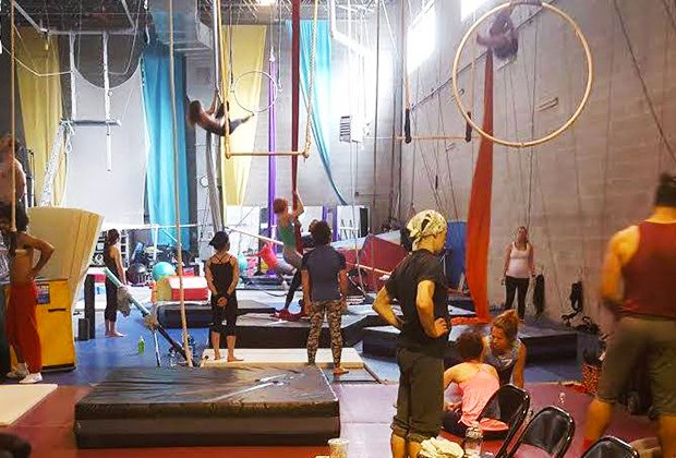 School Age Kids And Tweens Will Love A Circus Warehouse Party