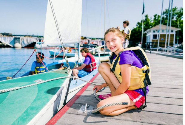 Photo courtesy of Community Boating