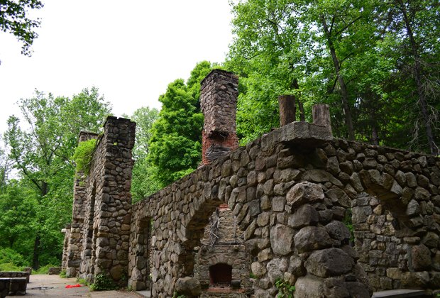 Explore the ruins of Cornish Estate in Cold Spring. Photo by Meagan Newhart