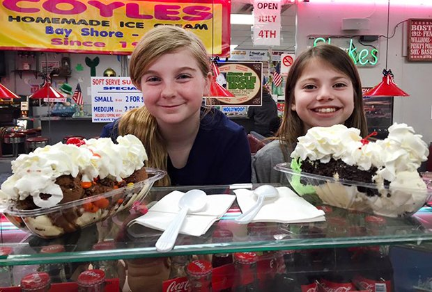 Coyle's serves up a side of nostalgia along with its sweet treats. Photo courtesy of Coyle's Homemade Ice Cream