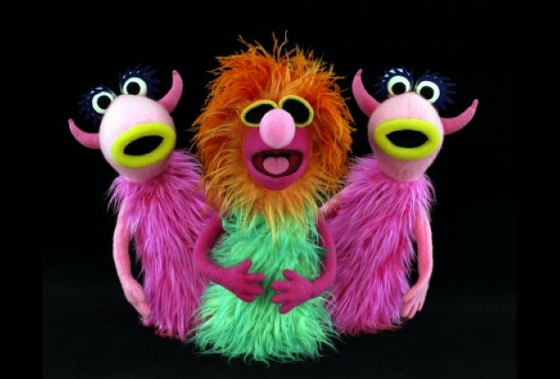 "The stars of ""Mahna Mahna."" Photo by John E. Barrett, courtesy of The Jim Henson Company"