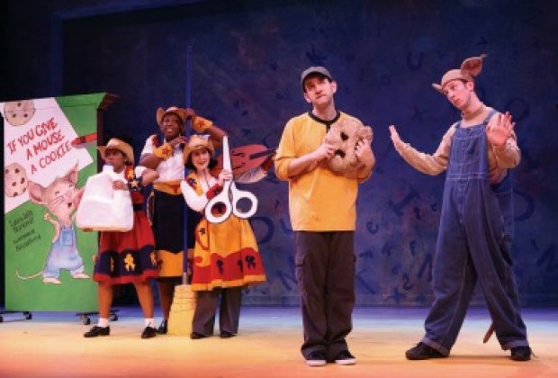 If You Give a Mouse a Cookie & Other Story Books; photo courtesy of Theatreworks USA