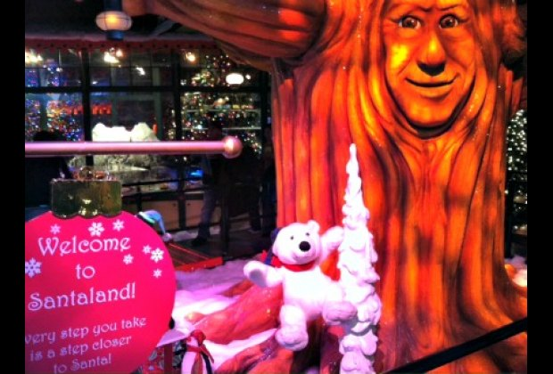 Open from the day after Thanksgiving to Christmas, Macy's Santaland is a must-do holiday experience