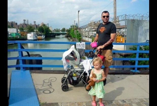 Crossing the bridge to Mister Sunday