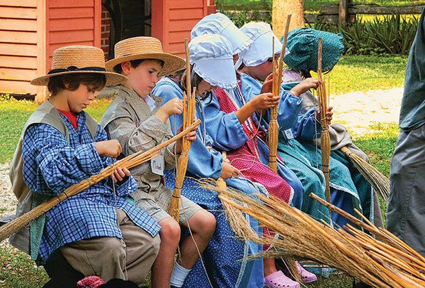 Kids get hands-on experience at Historic Cold Spring Village
