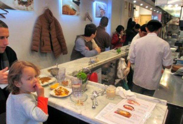 My daughter actually ate the veggies at Curry Ya!