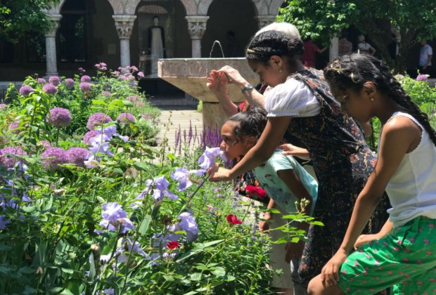 The medieval museum gardens at The Met Cloisters are lovely.
