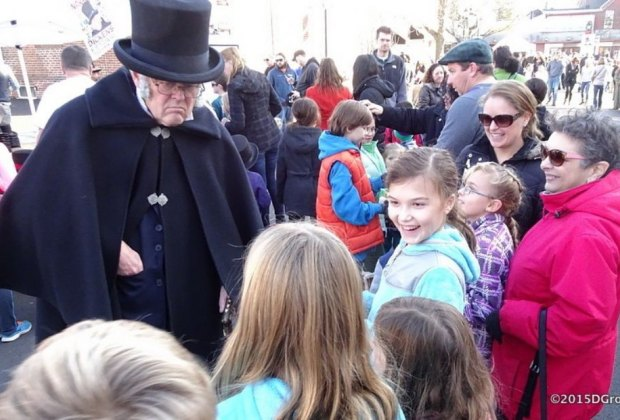 Photo by D Groff courtesy of Narberth's Dickens Festival