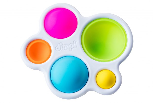 Dimpl is a sensory toy for kids that parents just might find themselves playing with.