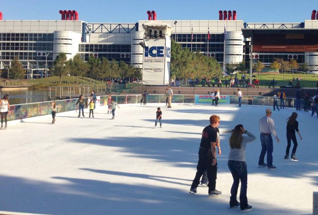 Discovery Green Ice Skating Rink