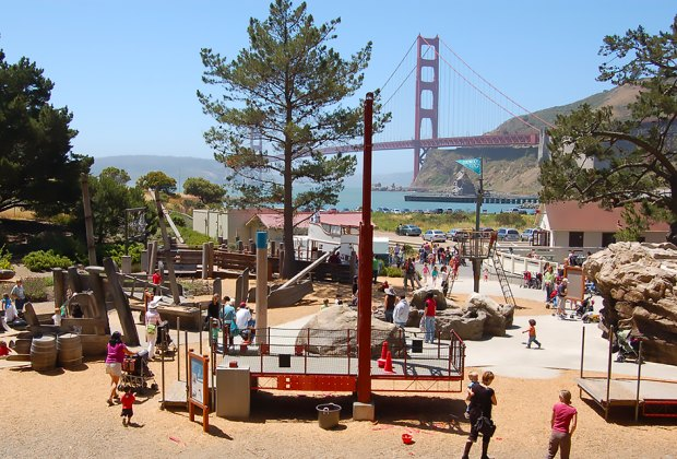 Photo courtesy of the Bay Area Discovery Museum