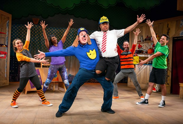 Dog Man: The Musical by TheaterWorksUSA plays at the Queens Theatre. Photo by Jeremy Daniel