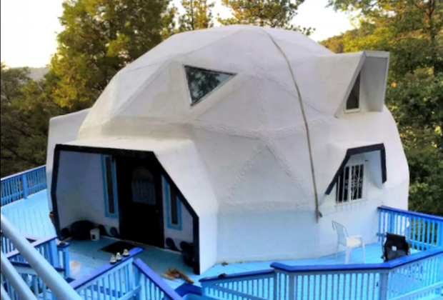 California Vacation Home Rentals for Families: Sleep in a dome.