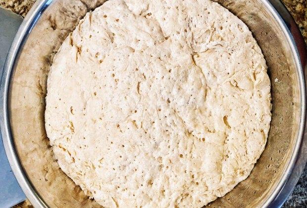 Quick Pizzas & Pizza Dough Recipes for Family Night: Easy Pizza Dough Recipe