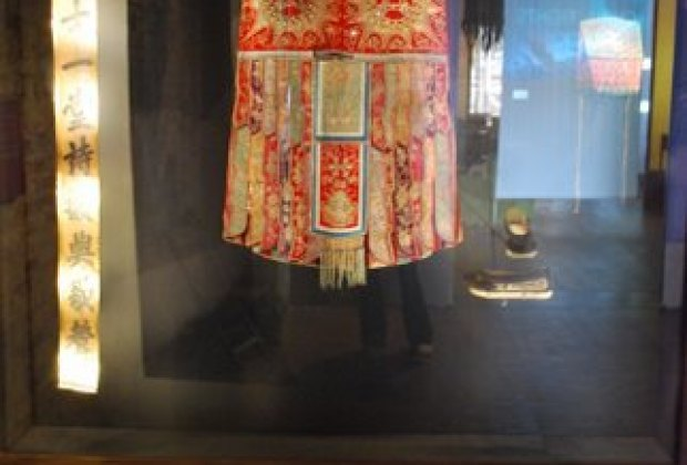 A traditional Chinese robe