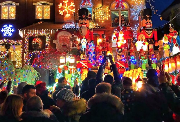 Photo courtesy of Dyker Heights Lights