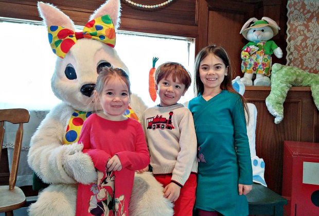 Easter Bunny Train. Photo courtesy of Danbury Railway Museum