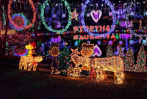 Outrageous Holiday Light Displays in the Lower Hudson Valley