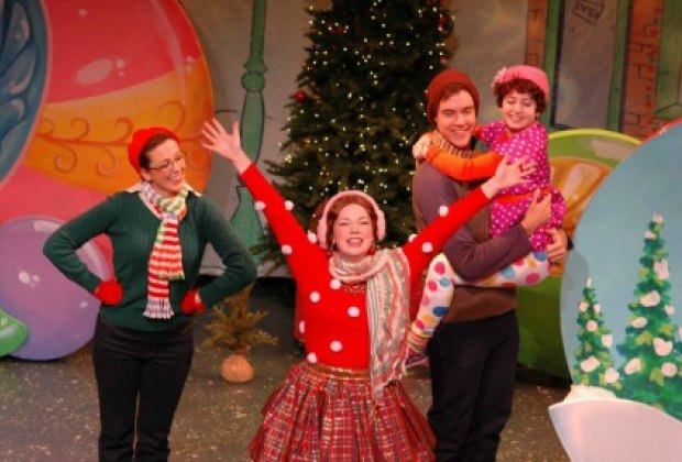 Vital Children's Theatre's brand-new musical, Fancy Nancy Splendiferous Christmas, is based on the book of the same name