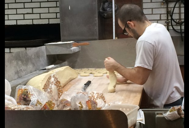 You can watch them make bagels at Fairmount Bagels