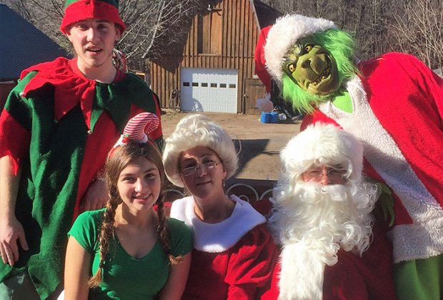 Breakfast with Santa (and the Grinch!) at Flemig Farm