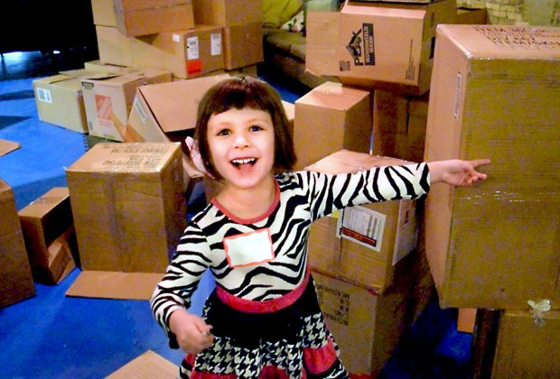 Enter a world of play and creativity as Filament Theatre transforms into a play-space for children and parents to build Forts! Photo courtesy of the theater