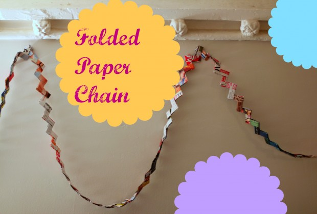 Weework Kids Craft Folded Paper Chains Mommypoppins Things To