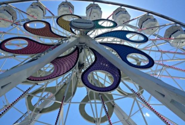 The Hersheypark Ferris Wheel.