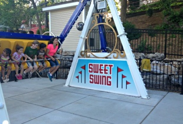 The Sweet Swings are perfect for little kids.