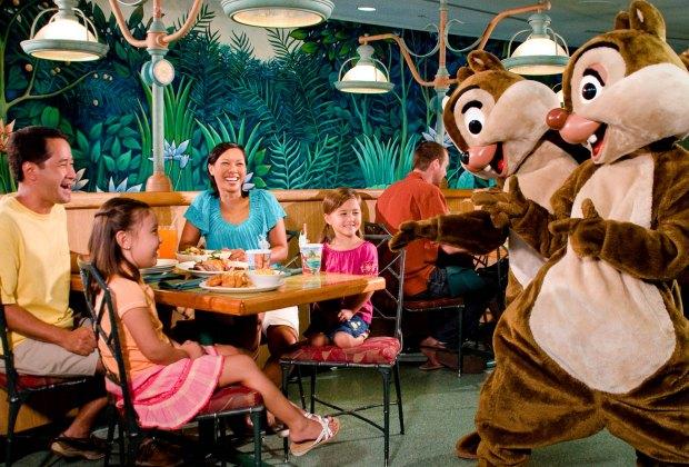 Garden Grill at Epcot. Walt Disney World