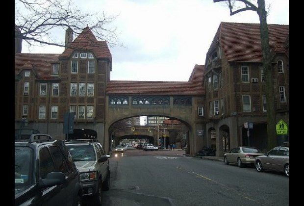 Station Square, the gateway to Forest Hills Gardens