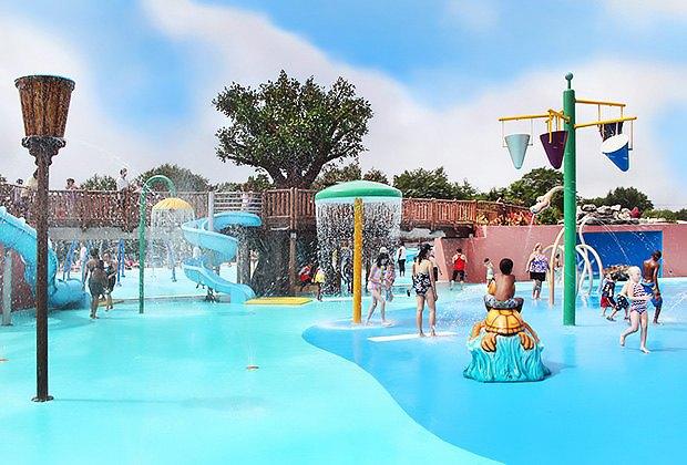 Splash at the Geiger Lake Memorial Spray Park