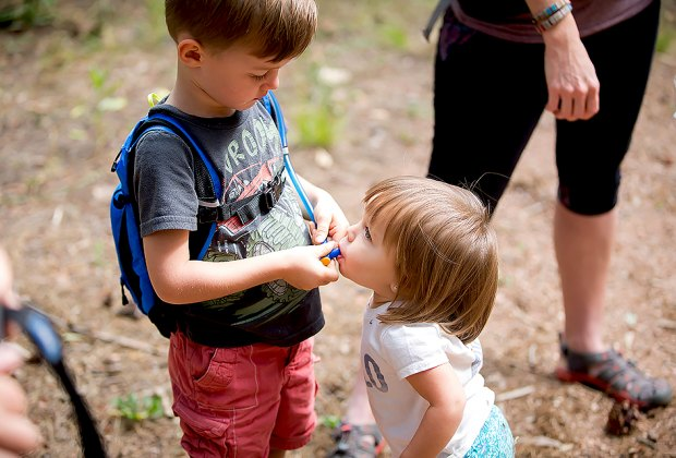 New York's Hudson Valley has tons of kid-friendly hiking trials to choose from. Photo courtesy of Hike It Baby