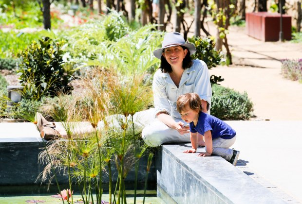 Fun at The Getty Villa. Photo by Ryan Miller/Capture Imaging