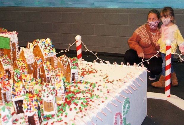 Visit the LICM over winter break to see GingerBread Lane