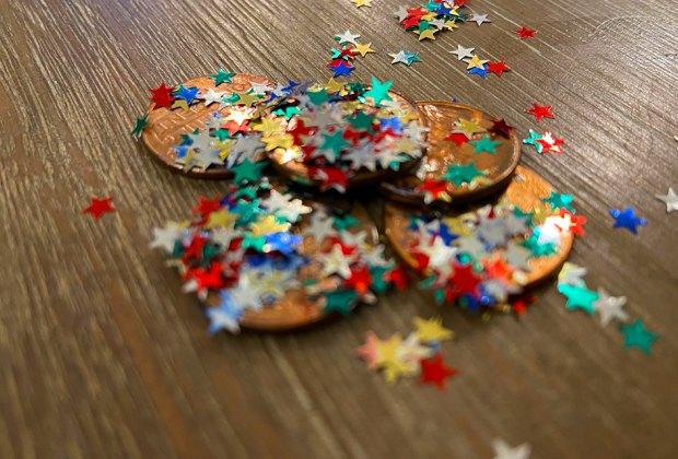 Creative Tooth Fairy Ideas Kids Love: Glitter Coins Tooth Fairy ideas