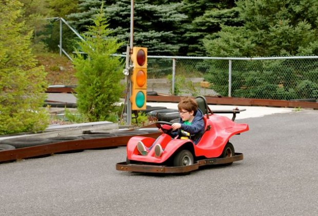 Kiddie Karts at Poconos Go Karts