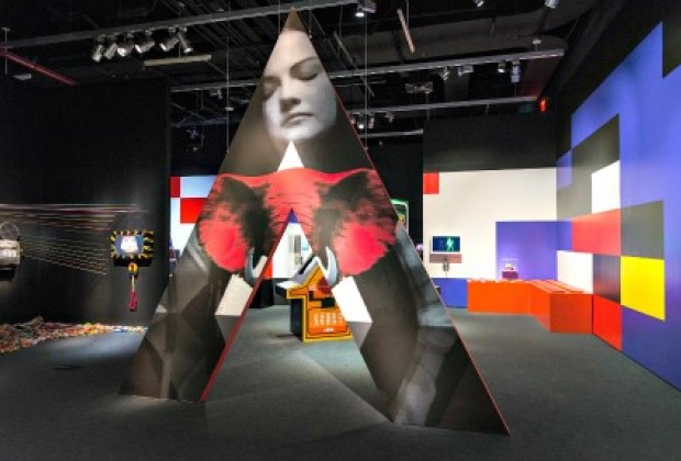 Spectacle: The Music Video at the Museum of the Moving Image; photo: Eric Harvey Brown