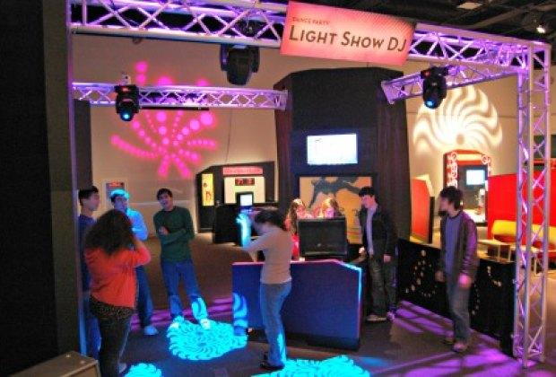 Design Zone's cool interactive music area