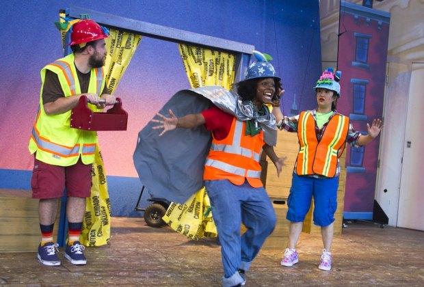 Goodnight, Goodnight, Construction Site courtesy of Bay Area Children's Theatre