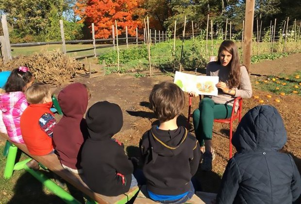 Grow It Green teaches kids about healthy eating and caring for the environment. Photo courtesy of Grow It Green Morristown