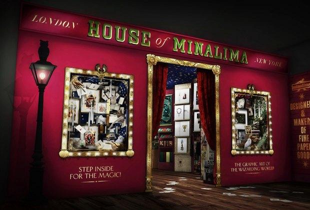 Harry Potter House of Minalima