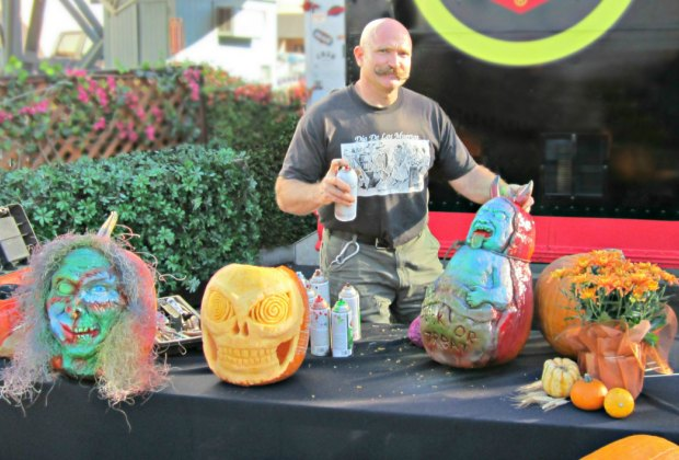 See Professional Pumpkin Carver Doug Goodreau's demonstrations at the 5th Annual Green Hills Harvest Festival. Photo courtesy of Doug Goodreau