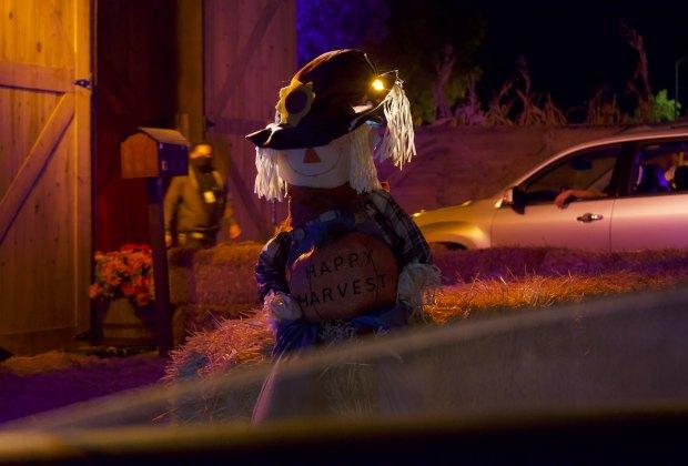 Hauntoween Halloween scarecrow